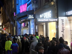 Wii U's HMV Oxford Street launch in London