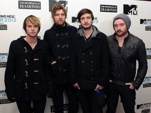 Kodaline at MTV Brand New 2013 launch 