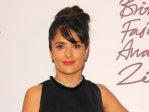 Salma Hayek, British Fashion Awards 2012