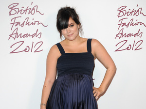Miss Mode: Lily Cooper aka Lily Allen attends British Fashion Awards 2012