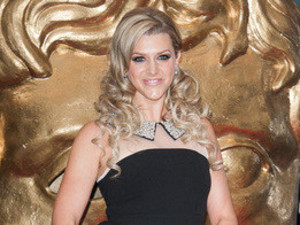 Anna Williamson at the BAFTA awards.