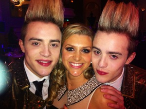Anna Williamson & Jedward