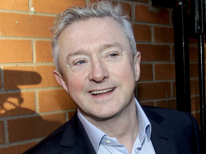 Louis Walsh on his way into court for his defamation case against Rupert Murdoch's News Group Newspapers (28/11/12)