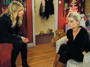 6420: Debbie tells Charity if Cameron stays around she will have to leave the village