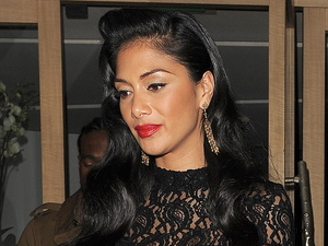 Nicole Scherzinger leaving Nobu restaurant in Mayfair London, England - 25.11.12 Credit: (Mandatory): Will Alexander/WENN.com