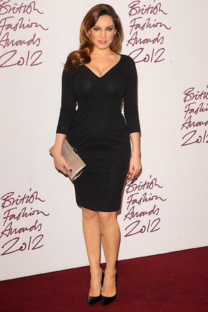 Kelly Brook, British Fashion Awards 2012