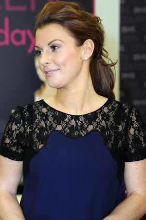Coleen Rooney launches her bedding range at BHS (British Home Stores) at the Trafford Centre in Manchester