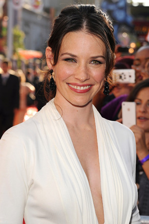 "Evangeline Lilly Premiere of ""Real Steel"" at the Gibson Amphitheater. Universal City, California - 02.10.11"