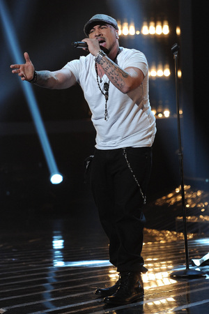 'The X Factor' USA TX November 29 - Vino Alan in the sing-off