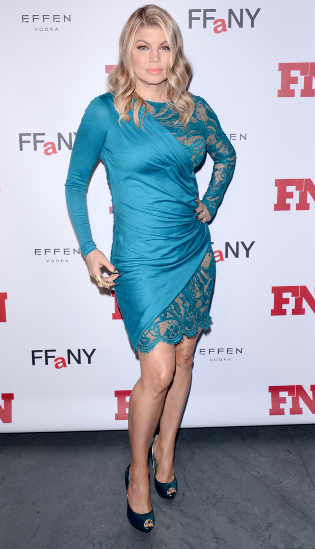 The 26th Annual Footwear News Achievement Awards at MOMA - Red Carpet Arrivals Featuring: Fergie, aka Stacy Ferguson Where: New York City, NY, United States