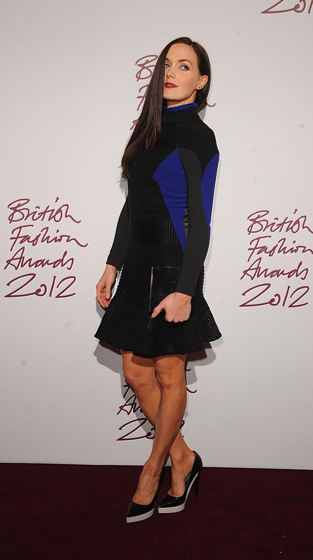 Victoria Pendleton, British Fashion Awards 2012