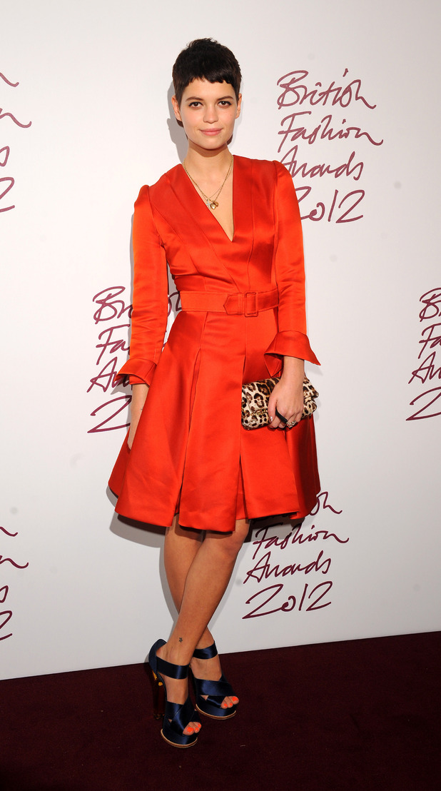 Pixie Geldof, British Fashion Awards 2012