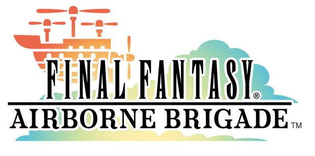 Final Fantasy Airborne Brigade logo