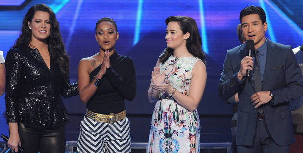 'The X Factor' USA TX November 29 - Paige Thomas is eliminated