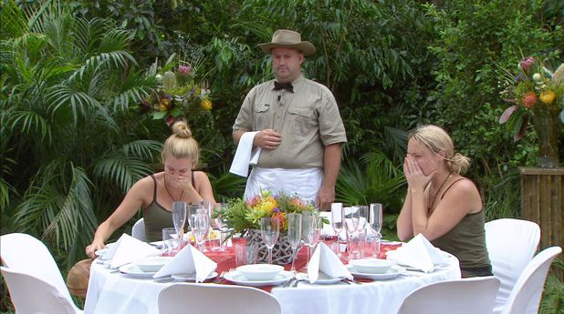 Ashley Roberts and Charlie Brooks final feast in the I'm A Celebrity jungle