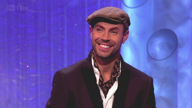 Skating judge Jason Gardiner seen on 'Dancing On Ice'