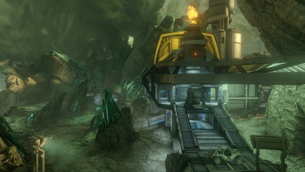 'Halo 4' Crimson Map Pack - Shatter