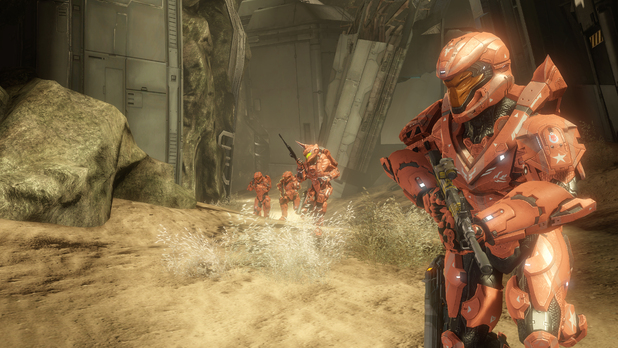 &#39;Halo 4&#39; Crimson Map Pack - Wreckage