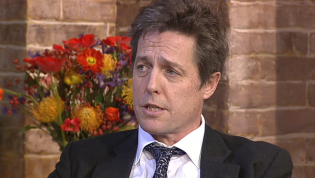 Hugh Grant on 'This Morning'