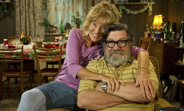 The Royle Family 2012 Christmas Special: Barbara Royle (SUE JOHNSTON), Jim Royle (RICKY TOMLINSON)
