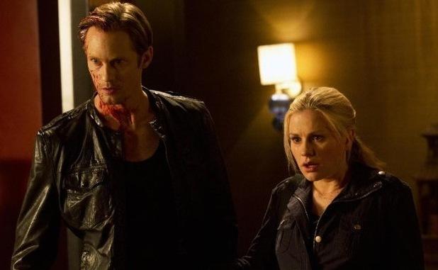 True Blood, Anna Paquin, Alexander Skarsgard