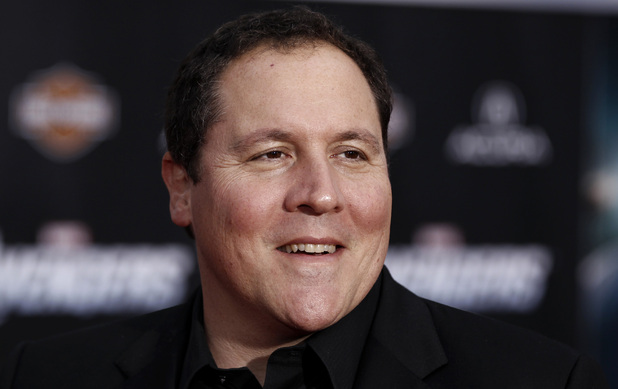 "Jon Favreau arrives at the premiere of ""The Avengers"" in Los Angeles, Wednesday, April 11, 2012."