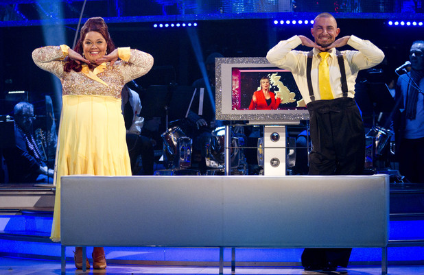 Strictly Week 9: Lisa and Robin.