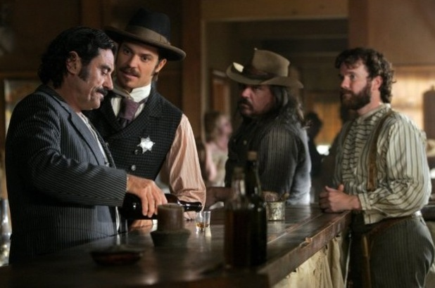 Deadwood, Ian McShane, Timothy Olyphant