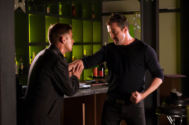 Brendan punches Ste