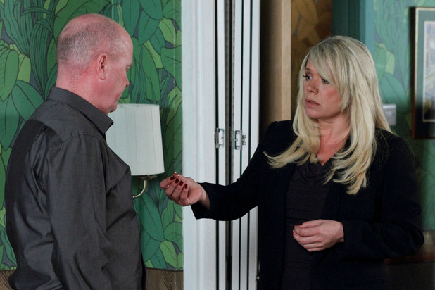 EastEnders, Sharon gives Phil the engagement ring back, Thu 6 Dec 2012
