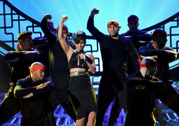 The X Factor USA (TX November 29) - Alicia Keys