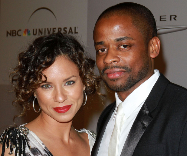 Dule Hill and wife NBC Universal's 68th Annual Golden Globes After Party held