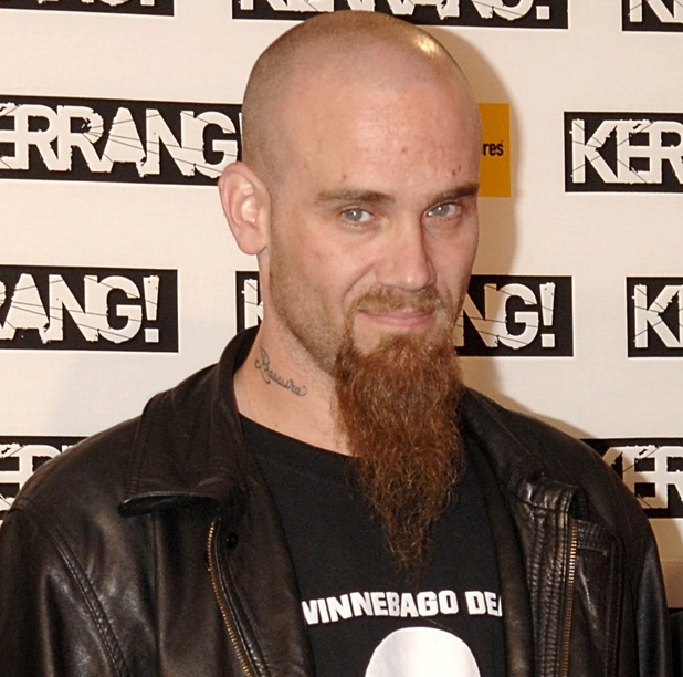Nick Oliveri arrives on the red carpet.