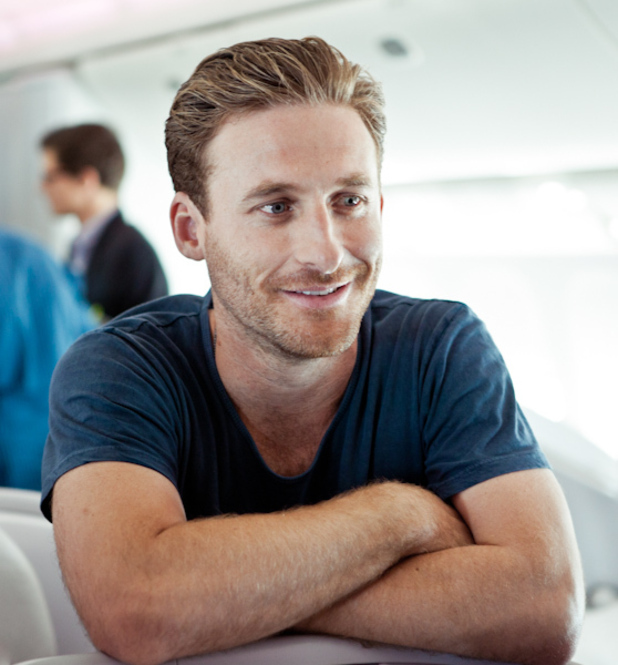 Dean O'Gorman Fili The Hobbit Air New Zealand