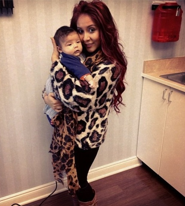 Snooki and son Lorenzo