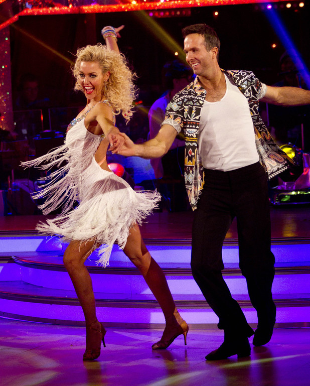Strictly Week 9: Michael and Natalie.
