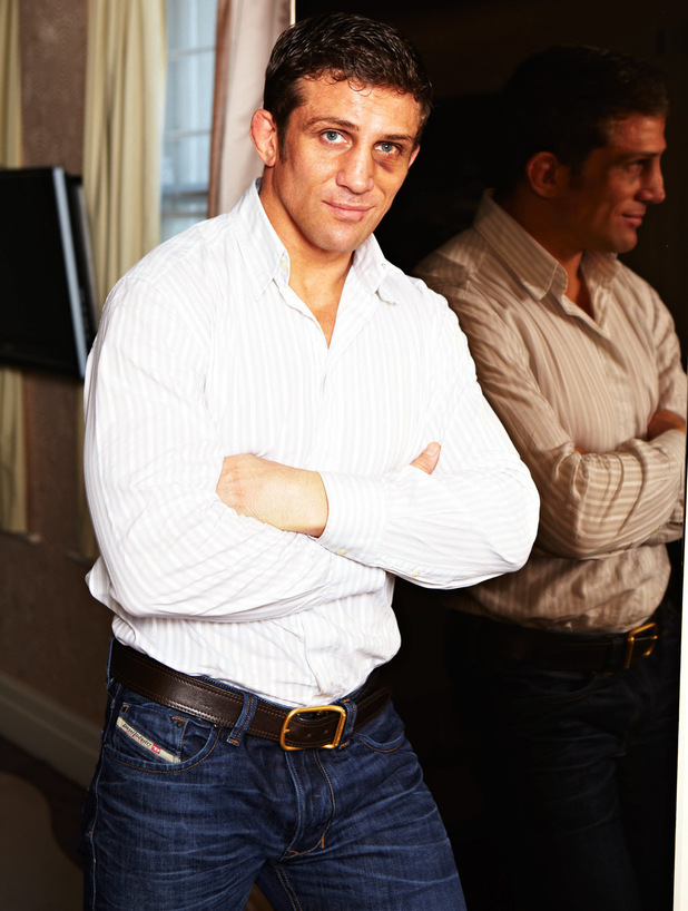 Alex Reid photo shoot for Now Magazine