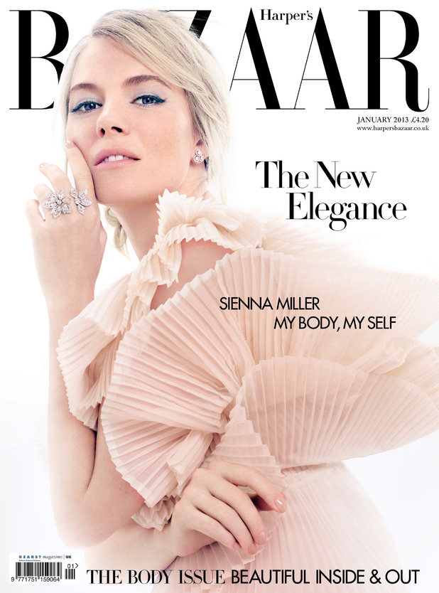 Sienna Miller photoshoot for Harper's Bazaar