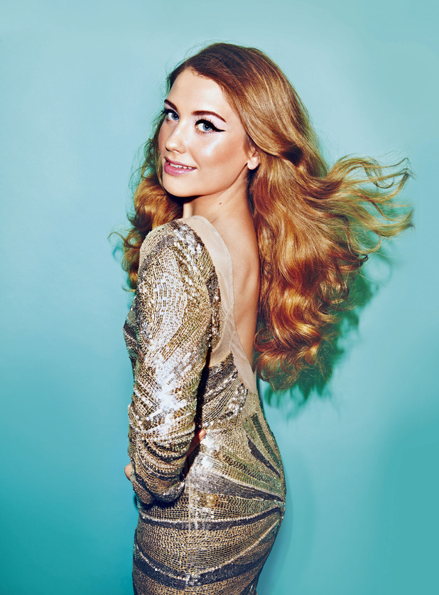 X Factor's Ella Henderson photo shoot for Look Magazine