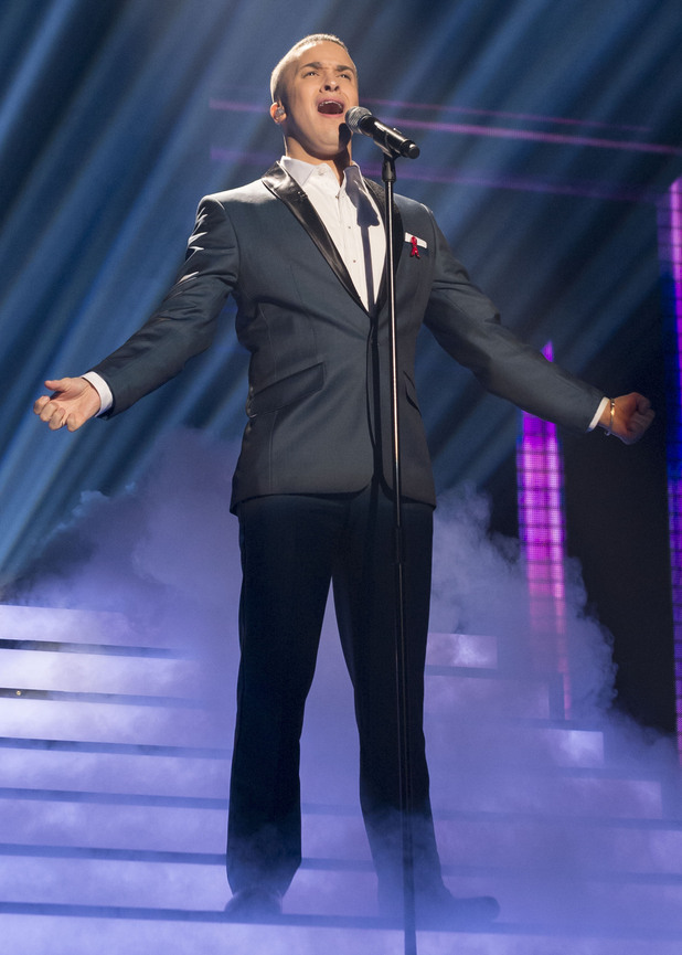 The X Factor Week 9: Jahmene.