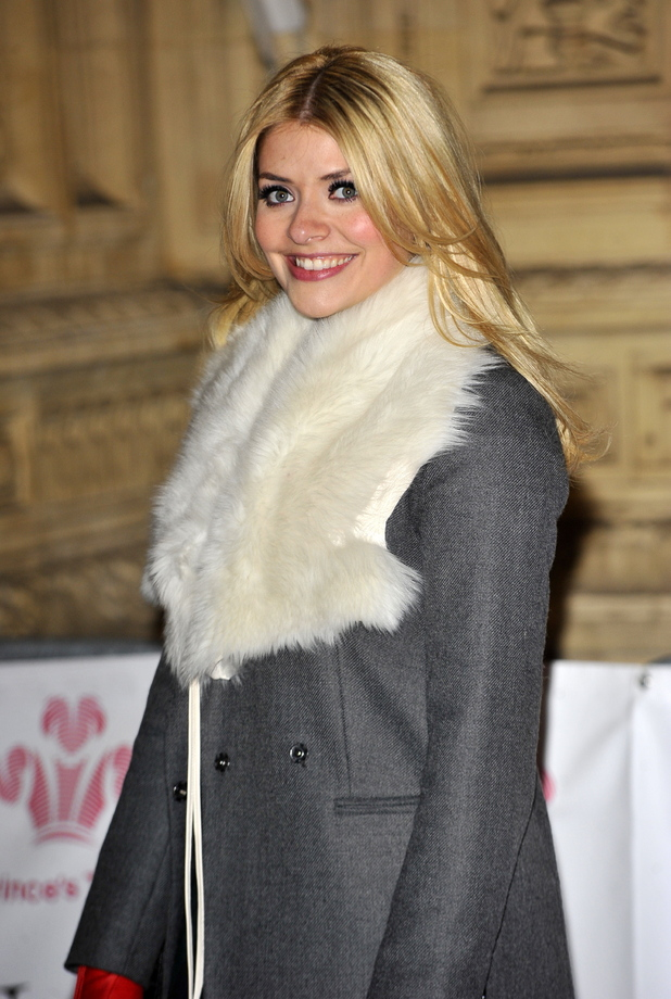 Holly Willougby The Princes' Trust Comedy Gala at Royal Albert Hall London, England- 28.11.12 Credit: (Mandatory): WENN.com