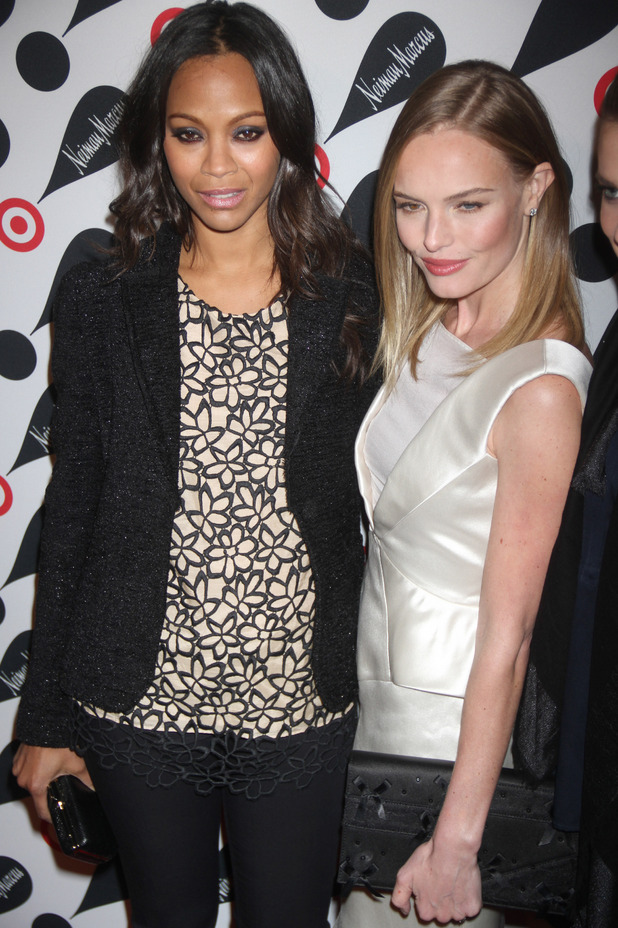 Kate Bosworth, Zoe Saldana, The Target and Neiman Marcus Holiday collection Launch