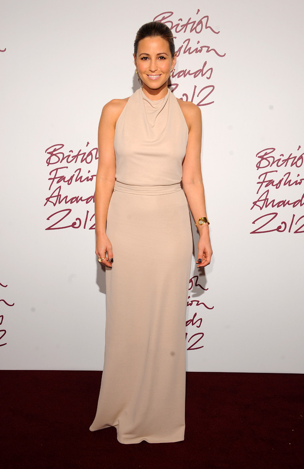 Rachel Stevens, British Fashion Awards 2012