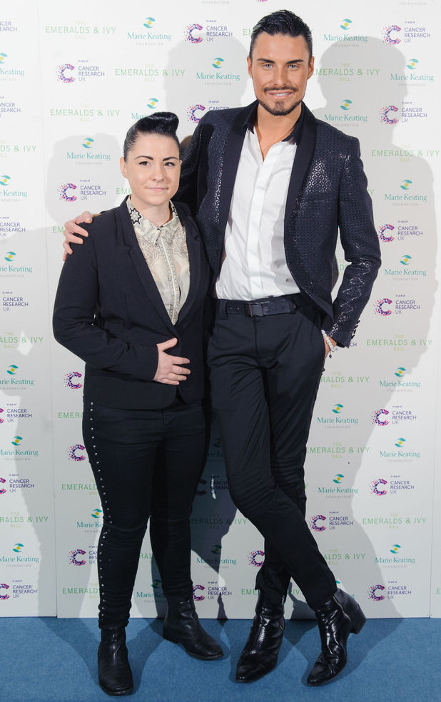 Lucy Spraggan and Rylan Clark
