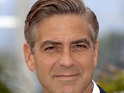 "George Clooney complains that magazines are trying to create a ""scandal""."