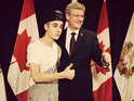 The 'Boyfriend' singer insists he was not prepared for Stephen Harper meeting.