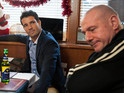 Dodger's two families cannot get along on Hollyoaks next week.