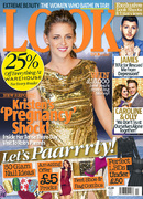 Look Magazine cover for week commencing December 3, 2012.