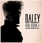 Daley ft. Jessie J 'Remember Me' single artwork.