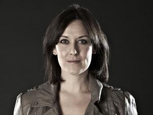 BBC F1 pitlane reporter Lee McKenzie